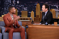 VIDEO: Michael B. Jordan Talks New Film CREED on 'Tonight Show'