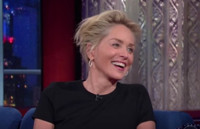 VIDEO: Sharon Stone Talks New Series 'Agent X' on LATE SHOW