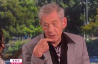 VIDEO: Sir Ian McKellen Reveals 'Lord of the Rings' Tattoo on THE TALK