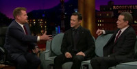 VIDEO: Bryan Cranston Discusses Officiating an Airplane Wedding on LATE LATE SHOW
