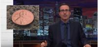 VIDEO: John Oliver Ponders Why We Still Make Pennies on LAST WEEK TONIGHT