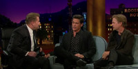 VIDEO: Rob Lowe & David Spade Visit LATE LATE SHOW