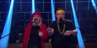 VIDEO: James Corden & Ellie Goulding Perform 'Love Me Like You Do' Remix-Up!
