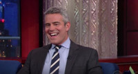 VIDEO: Andy Cohen Shares Camp Letters to His Mom & Dad on COLBERT