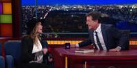 VIDEO: Stephen Colbert Joins Carly Simon for 'Mockingbird' Duet