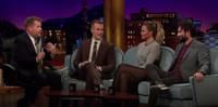 VIDEO: Chrissy Teigen, James Van Der Beek Visit JAMES CORDEN