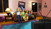 VIDEO: Sneak Peek - Watch THE SIMPSONS 'Roto-Scoped' Couch Gag