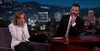 VIDEO: Calista Flockhart Recalls Jimmy Kimmel's Embarrassing Gaffe on 'LIVE' Appearance