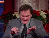 VIDEO: Quentin Tarantino Reveals He's a Fan of Rom-Coms on LATE SHOW