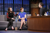 VIDEO: Tina Fey, Amy Poehler & More Talk SISTERS on 'Late Night'