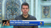 VIDEO: MISS UNIVERSE Judge Perez Hilton Speaks Out After Crowning Error