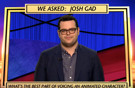 STAGE TUBE: Josh Gad Reveals the Best Part of Voicing an Animated Character on JEOPARDY!