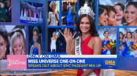 VIDEO: Miss Universe Talks Shocking Mix-Up; Wants Steve Harvey to Return as Host
