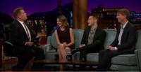 VIDEO: Sarah Hyland, Rami Malek & Jack McBrayer Share Red Carpet Poses on 'CORDEN'