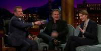 VIDEO: Kurt Russell and Paul Dano Compare 'Beach Boy' Stories on LATE LATE SHOW