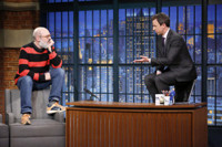 VIDEO: David Cross & Seth Meyers Have a Stand-Off on LATE NIGHT