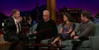 VIDEO: America Ferrara, Tim Robbins & Adam Devine Visit LATE LATE SHOW