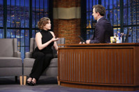 VIDEO: Rachel Bloom Talks Recent Golden Globes Win on LATE NIGHT