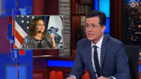 VIDEO: Stephen Colbert Celebrates the Return of Sarah Palin on LATE SHOW!
