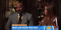 VIDEO: Steve Harvey And Miss Colombia Talk Miss Universe Blunder on TODAY