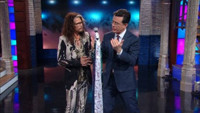 VIDEO: Steven Tyler Teaches Colbert How to Look Cool on LATE SHOW