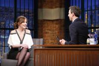 VIDEO: Dakota Johnson Talks Recent Wardrobe Malfunction on LATE NIGHT
