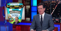 VIDEO: Stephen Colbert Suggests Candidate-Inspired Ice Cream Flavors