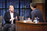 VIDEO: Author Alexander Chee Explains His Amtrak Writers Residency on LATE NIGHT