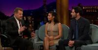 VIDEO: Tom Ellis & Eva Longoria Visit LATE LATE SHOW