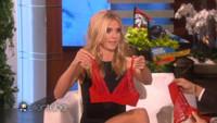 VIDEO: Heidi Klum Give Peek at Valentine's Day Undies on ELLEN
