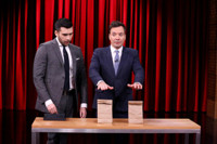 VIDEO: Illusionist Dan White Performs 'Hidden Spike Trick' on TONIGHT