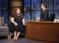 VIDEO: Aidy Bryant Reveals Larry David Was One of Her All-Time Favorite SNL Hosts
