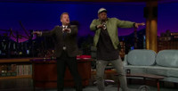 VIDEO: James Corden & Super Bowl MVP Von Miller Work on Celebratory Dance