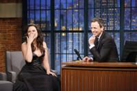 VIDEO: Katie Lowes Talks Return of 'Scandal' on LATE NIGHT