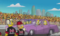 VIDEO: THE SIMPSONS Head to Daytona 500 in Support of FOX NASCAR Season Opener