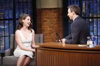 VIDEO: Alison Brie Recalls Clubbing with Colin Jost in NYC