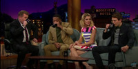VIDEO: Chiwetel Ejiofor, Grace Helbig & Jake Lacey Practice Proper Spit-Take Form on 'CORDEN'