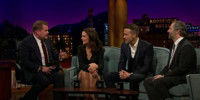 VIDEO: Ryan Reynolds, Katie Holmes & Judd Apatow Visit LATE LATE SHOW