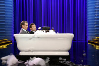 VIDEO: Bryan Cranston & Jimmy Fallon Share a Bubble Bath on TONIGHT SHOW