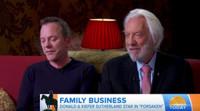 VIDEO: Kiefer & Donald Sutherland Talk Working Together For First Time in FORSAKEN