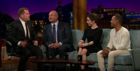 VIDEO: Cristin Milioti, Dr. Phil & Shad Moss Visit LATE LATE SHOW