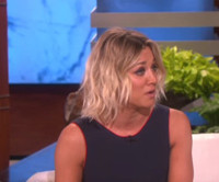 VIDEO: Kaley Cuoco Explains Her New Ink on Today's ELLEN