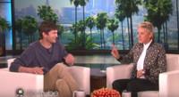 VIDEO: Ashton Kutcher Talks Top Secret Wedding & Helicopter Parenting on ELLEN