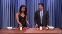 VIDEO: Priyanka Chopra and Jimmy Have a Wing-Eating Contest on TONIGHT