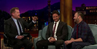 VIDEO: On the LATE LATE SHOW, Gerard Butler Nearly Lost His Aunt at a Premiere