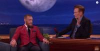 VIDEO: Conor McGregor Demos His Capoeira Kick On CONAN