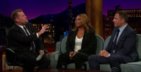 VIDEO: On LATE LATE SHOW, Queen Latifah Discusses Touring with Pre-Fresh Prince Will Smith