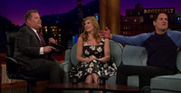 VIDEO: Connie Britton Gives Mark Cuban Her Business Pitch on LATE LATE SHOW