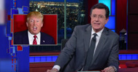 VIDEO: Stephen Colbert Talks 'Angry' Trump Rallies on LATE SHOW
