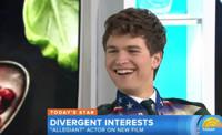 VIDEO: Ansel Elgort Talks New Film ALLEGIANT on 'Today'